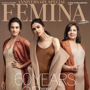 When Deepika, PV Sindhu came together for a cover