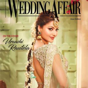 Urvashi Rautela looks breathtaking as a bride