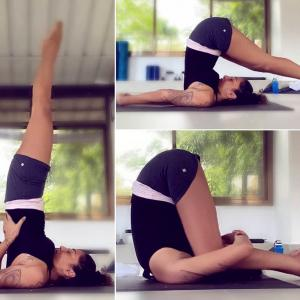 Yoga helps Shveta recover from surgery