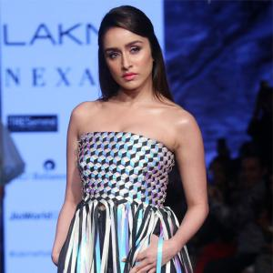 Shraddha dares to bare in an off-shoulder