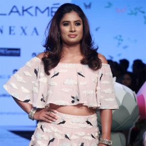 What's Mithali Raj doing on the ramp?