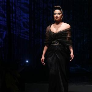 Desi girl Priyanka slays in a bold backless gown