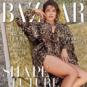 Wild and sexy! Priyanka wows in a leopard print
