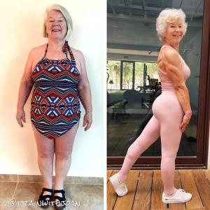 Must read: A 73-yr-old's inspiring weight loss journey