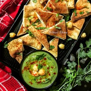 Recipe: How to make crispy grilled pita chips