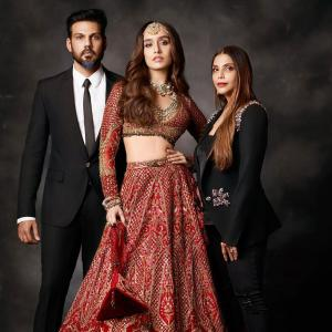 SEE: Why is Shraddha dressed like a bride?