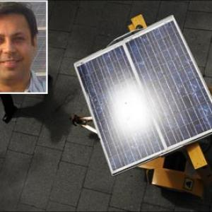 India's first entrepreneur to sell solar power