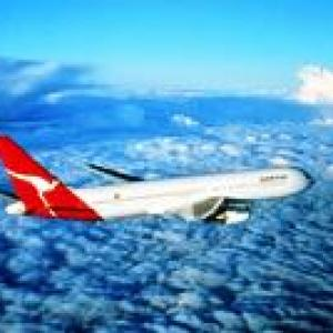 A pat on the back for Satyam from Qantas