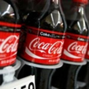 Financial crisis: Coca-Cola holds its top position