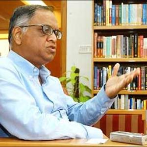 Narayana Murthy on Infosys, politics, and his son