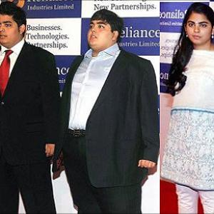 IMAGES: India's billionaire sons and daughters