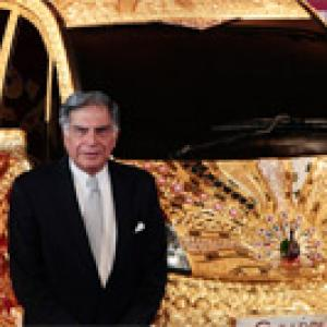 'Ratan Tata, a happy brand ambassador for India Inc'
