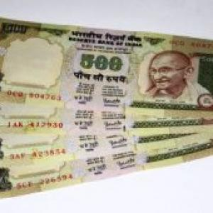 Re rises 13 paise against dollar in early trade
