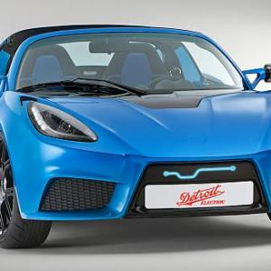 Images: World's FASTEST electric SPORTS car