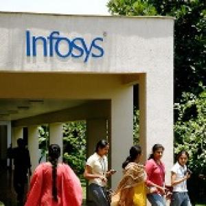 IT shares dip post Infosys Q4 earnings