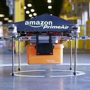 Amazon testing drones that'll deliver packages in 30 minutes