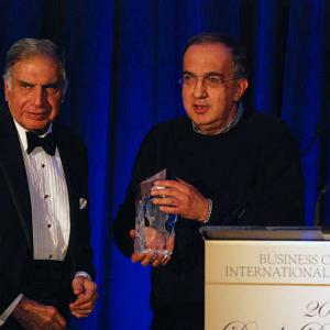 Ratan Tata receives Dwight D Eisenhower Leadership Award