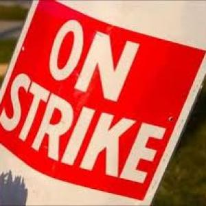 PSU banks' staff go on strike; operations hit