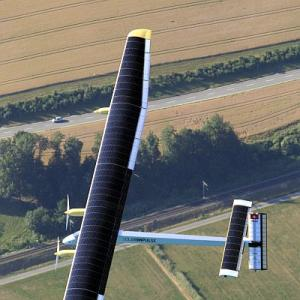 Future of flying: Solar-powered planes?