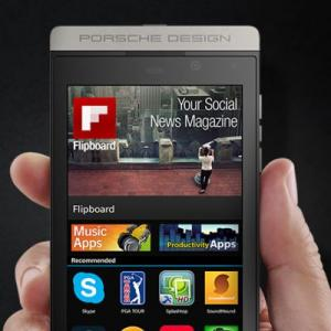 BlackBerry launches Porsche-designed smartphone