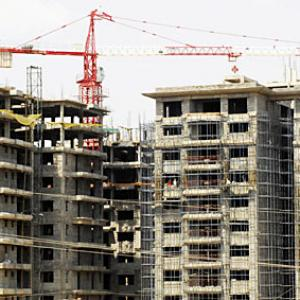 Investment in realty sector dips 65% in 2013