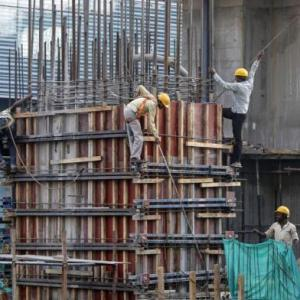 Slowdown in construction hits Modi's jobs promise