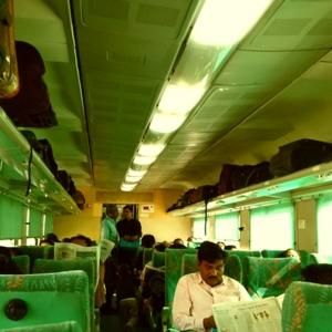 This man wants separate train compartments for meat-eaters