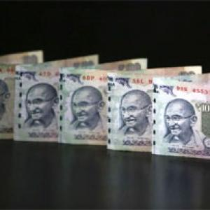 Rupee rises 15 paise to end at over 1-week high
