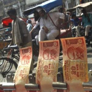 Indian firms may take a hit if the rupee falls further