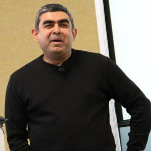 Vishal Sikka is Infy's first non-founding CEO