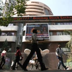 Friday the 13th hits stocks, rupee once again; gold shines