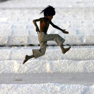 IMAGES: The making of salt in India