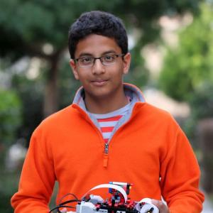 This 13-yr-old inventor FLOORED Intel with his start-up idea