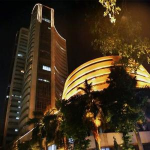Sensex ends 464 points higher led by PSU banks