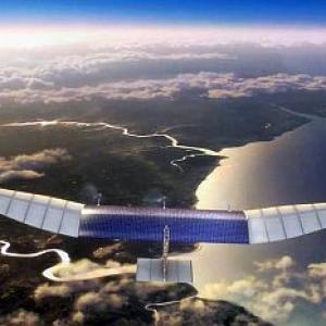 Facebook to test internet beaming drones soon