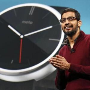 Windfall for Google CEO Pichai with $199 million stock grant