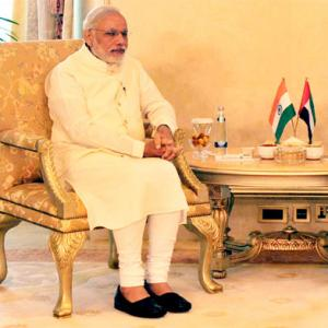 Modi sells India dream to UAE prime minister