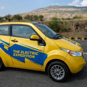 The speed bumps for India's electric cars