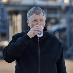 Drinking water from human poop? Yes, Bill Gates makes it a reality!