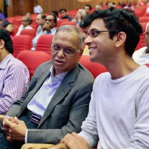 At Infy AGM, Narayana Murthy steals show, shareholders want him back