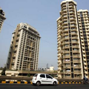 Mumbai realty developers' debt rises