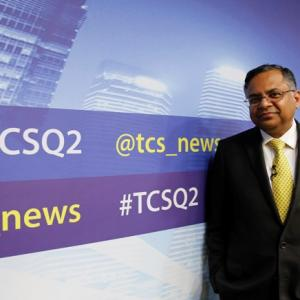 Who will replace Chandra at TCS if he moves to Tata Sons?