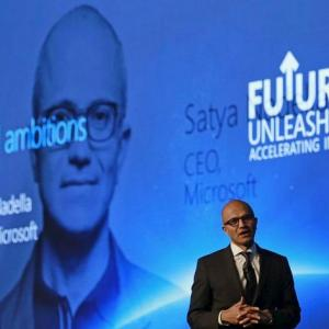 Nadella embraces E-comm cos, ropes in PayTm, Snapdeal for cloud