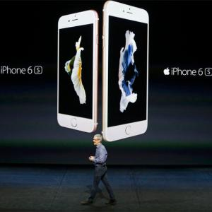 Apple unveils iPhones 6S, 6S Plus with '3D Touch'