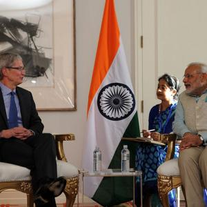 Steve Jobs went to India for inspiration: Apple CEO tells Modi