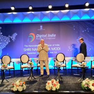 Facebook and Twitter are our new neighbourhoods: Modi