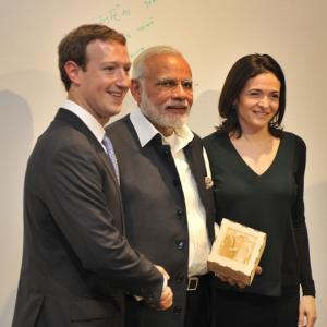 Modi@Facebook: What he likes and writes