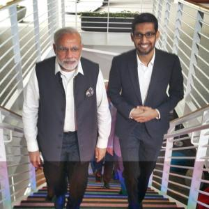 Modi@Google: A tour of the 4 crucial projects in progress