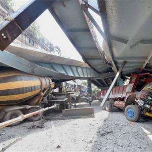 Kolkata flyover collapse: IVRCL says not at fault for mishap