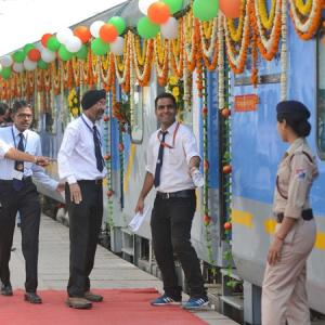 India's fastest Gatiman Express flagged off amid fanfare